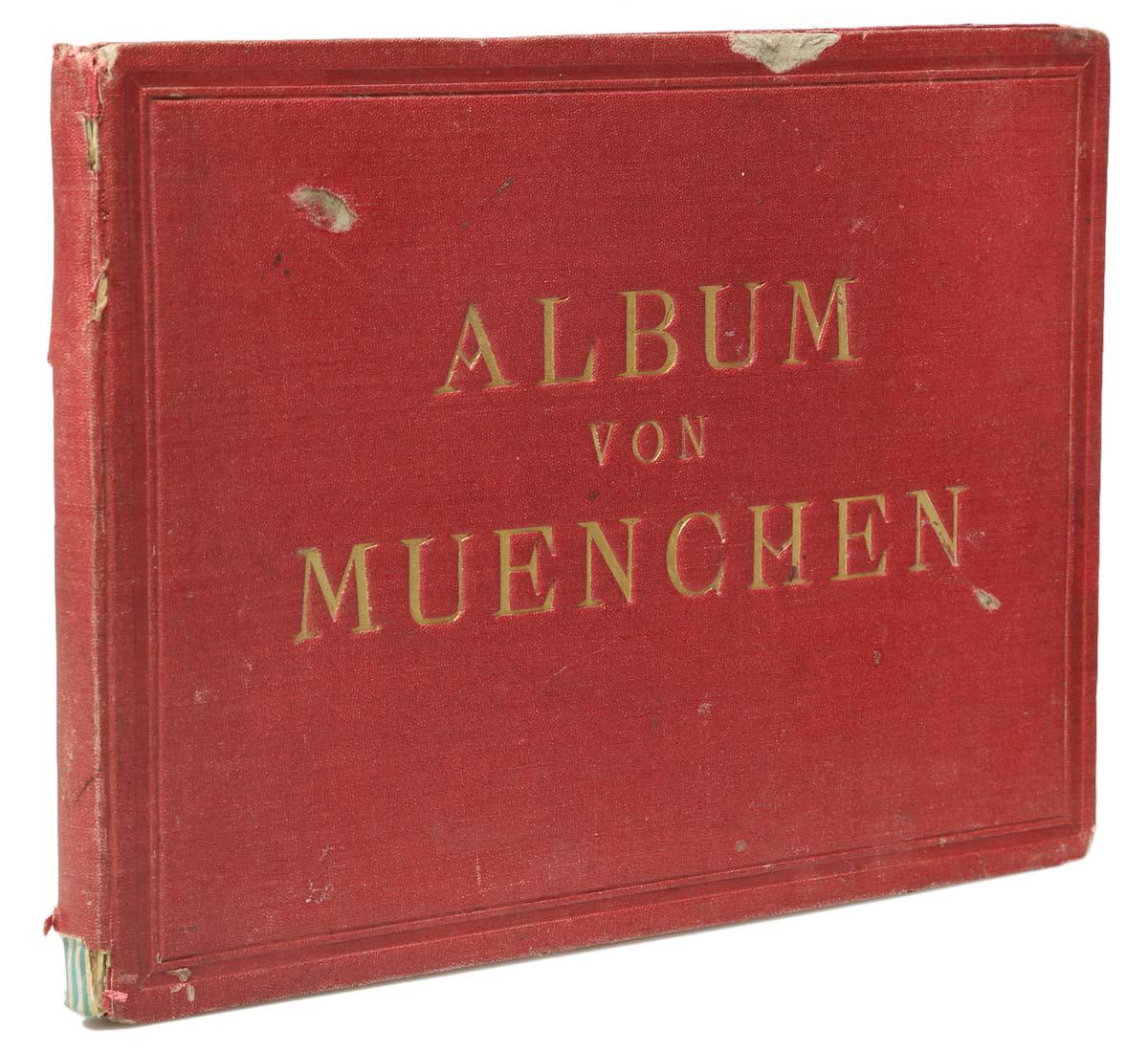 цены Album von Muenchen. Виды Мюнхена. Альбом с 20 гравюрами середины XIX века