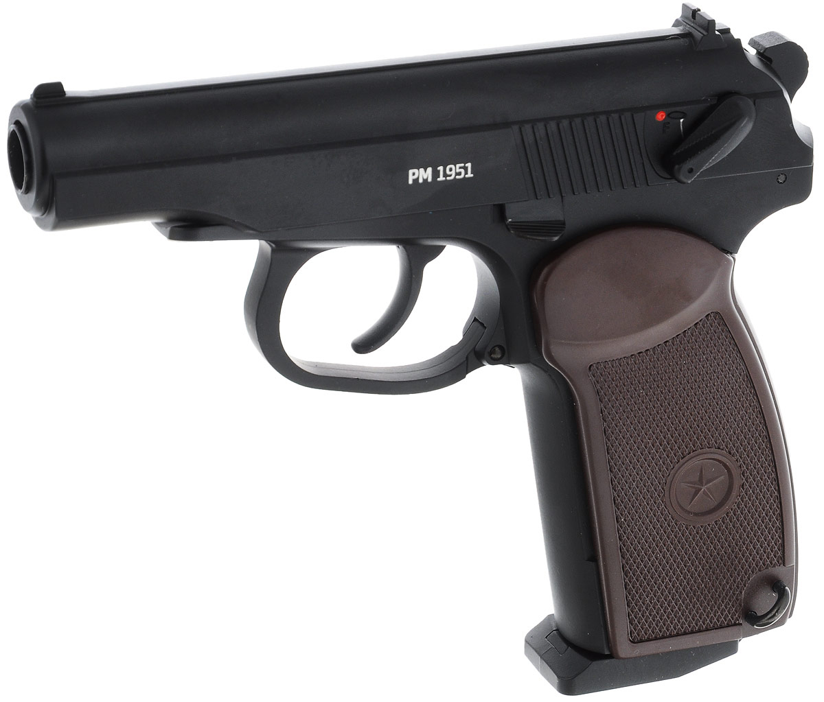Пистолет пневматический Gletcher PM 1951, 4,5 мм цена