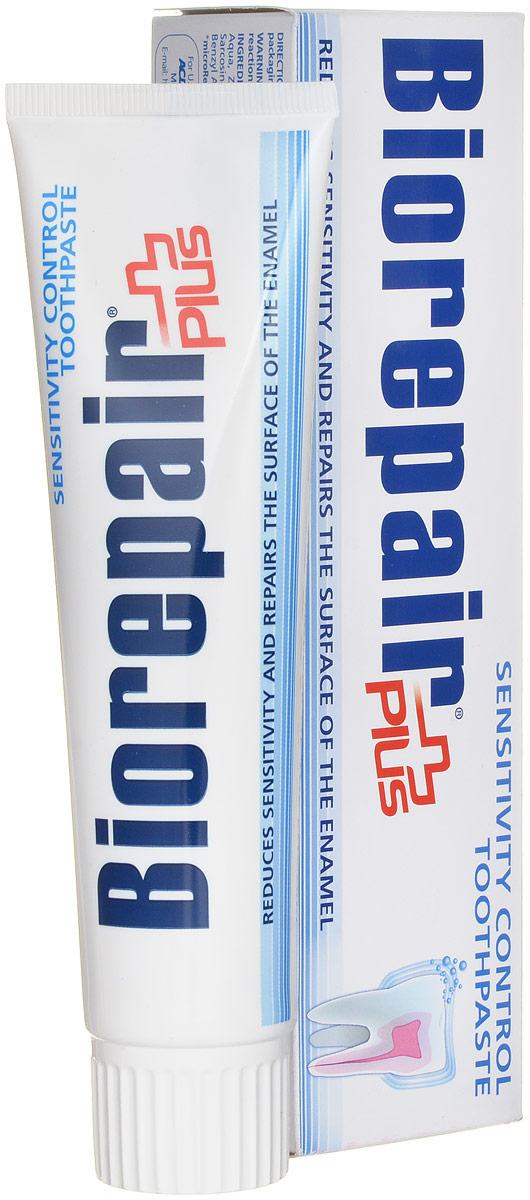 Biorepair зубная паста для чувствительных зубов, Sensitive Teeth Plus, 100 млGA1053800Борется с гиперчувствительностью зубов, Идеально подходит для ухода за зубами после профессиональной чистки у стоматолога, низкая абразивность, высокое содержание запатентованного компонента Микрорипейр