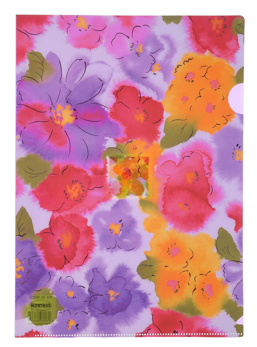 Centrum Папка-уголок Lily формат А4 цвет сиреневый centrum папка уголок lily формат а4 цвет сиреневый