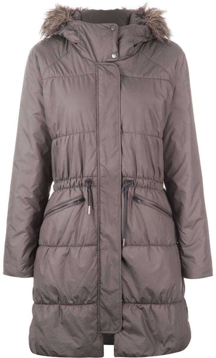 Пальто женское Columbia Sparks Lake Long, цвет: серый. 1694121-981. Размер L (48)