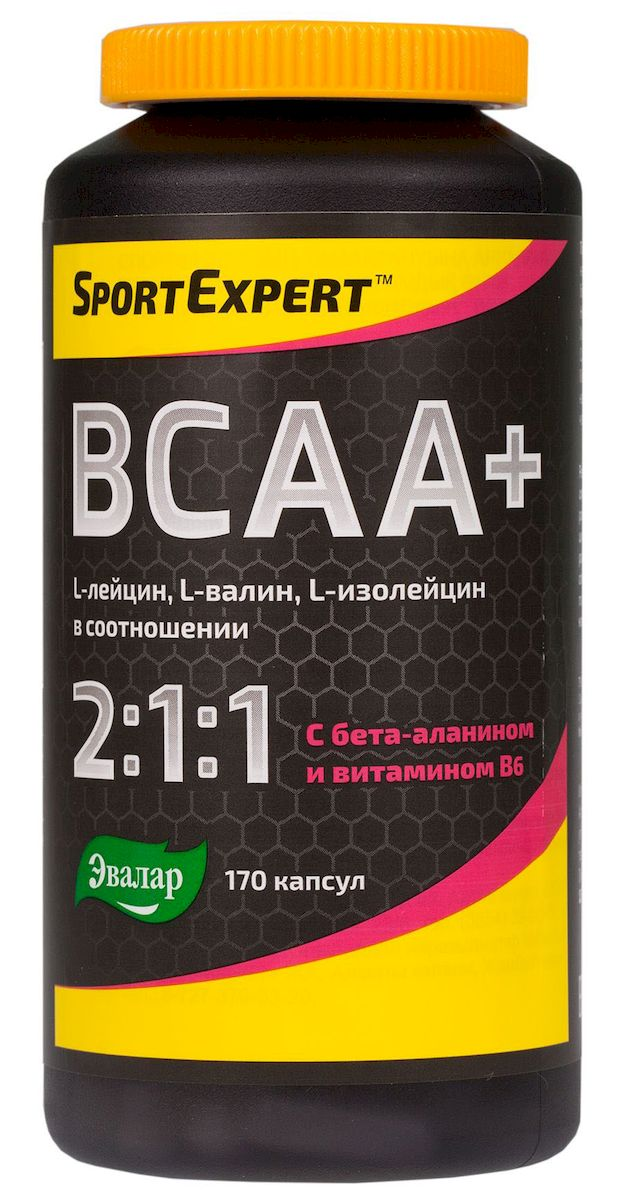 SportExpert ВСАА+ БЦАА+, капс.№170 по 510 мг
