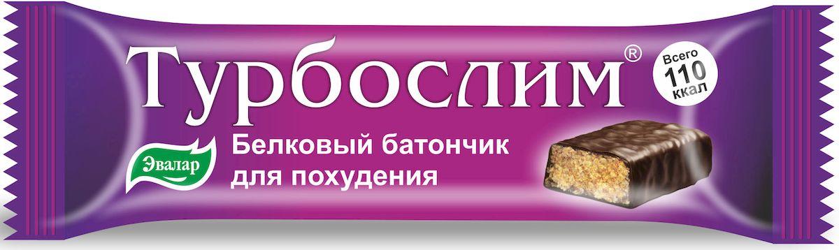 Турбослим батончик для похудения №1 по 50 г эвалар турбослим день усиленная формула 30 капсулы