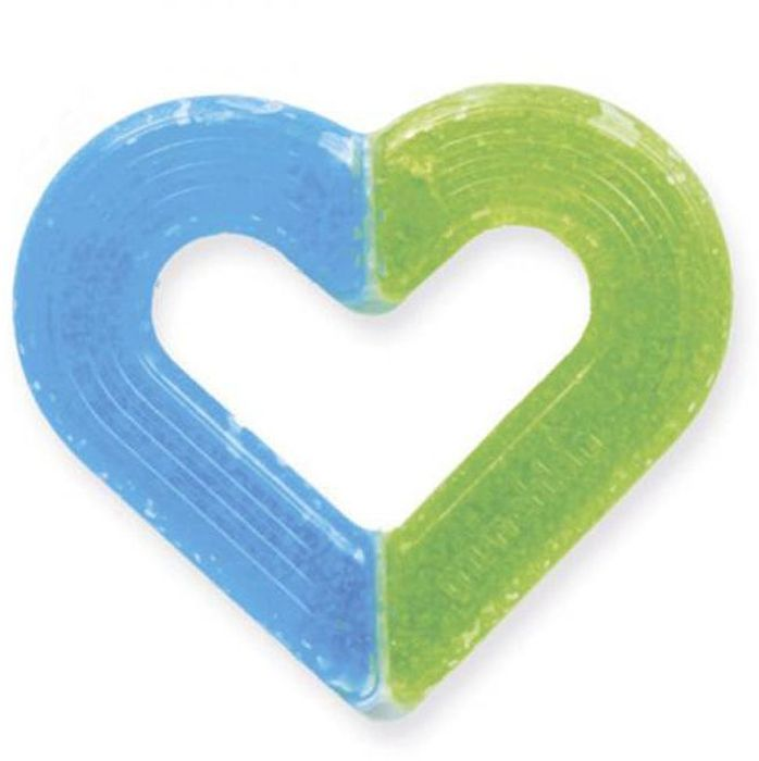 Munchkin Прорезыватель Сердечко прорезыватель munchkin сердечко light blue green