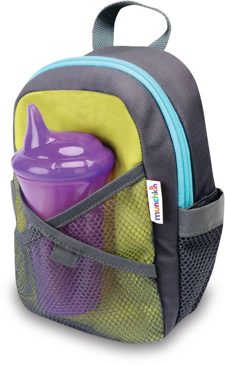 Munchkin Рюкзак детский со страховочным поводком 1204612046Детский рюкзачок со страховочным поводком Munchkin; Рюкзачок со страховочным поводком создан для детей, приучающихся к самостоятельности. Съемный ремешок крепится;к рюкзаку, позволяя родителям всегда контролировать ситуацию, а ребенку - чувствовать себя;свободно. Теперь каждая прогулка станет еще комфортнее, так как вам не нужно постоянно удерживать малыша за руку рядом с собой. Детский рюкзак достаточно вместительный: в него можно положить все, что понадобится ребенку на прогулке или в детском саду. А в специальный сетчатый кармашек удобно поставить напиток.; регулируемые по размеру ремешки - удобная амортизирующая спинка - съемный амортизирующий ремень снижает силу натяжения при внезапных потягиваниях - поворотные зажимы не допускают скручивания ремня - кармашек для напитка - петелька для крепления игрушки - размеры (ШхГхВ): 14х8х22 - возраст: от 1 года до 4 лет