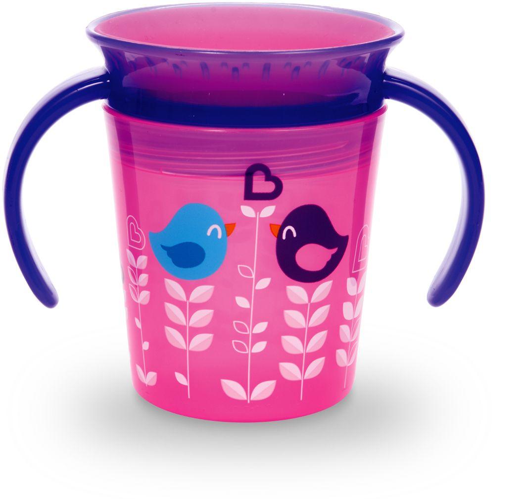 Munchkin Поильник-непроливайка Deco от 6 месяцев цвет розовый 177 мл