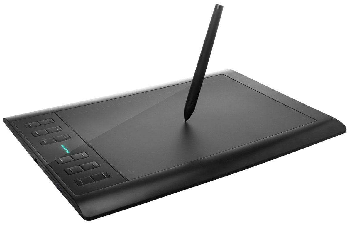 Zakazat.ru Huion 1060 Plus, Black графический планшет