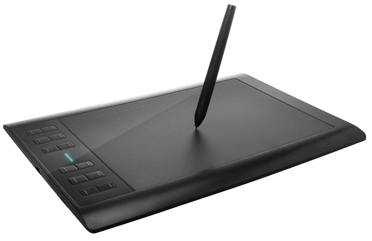 Huion 1060 Plus, Black графический планшет 1060Plus