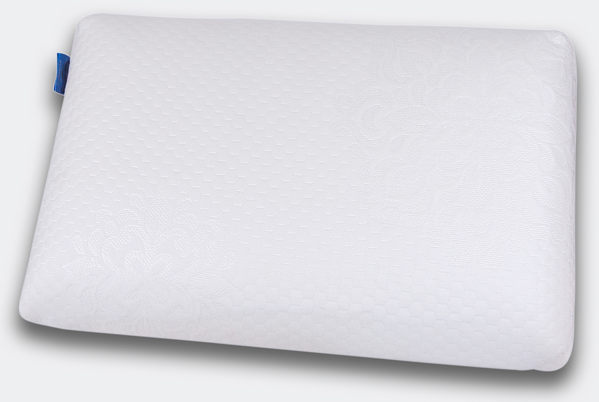 Подушка ортопедическая IQ Sleep  Cool Feel , с эффектом памяти, 38 х 58 х 11 см - Ортопедические товары