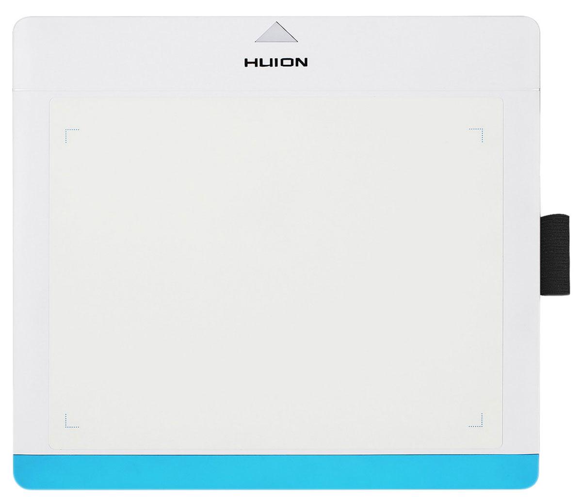 Huion 680TF, White Blue графический планшет