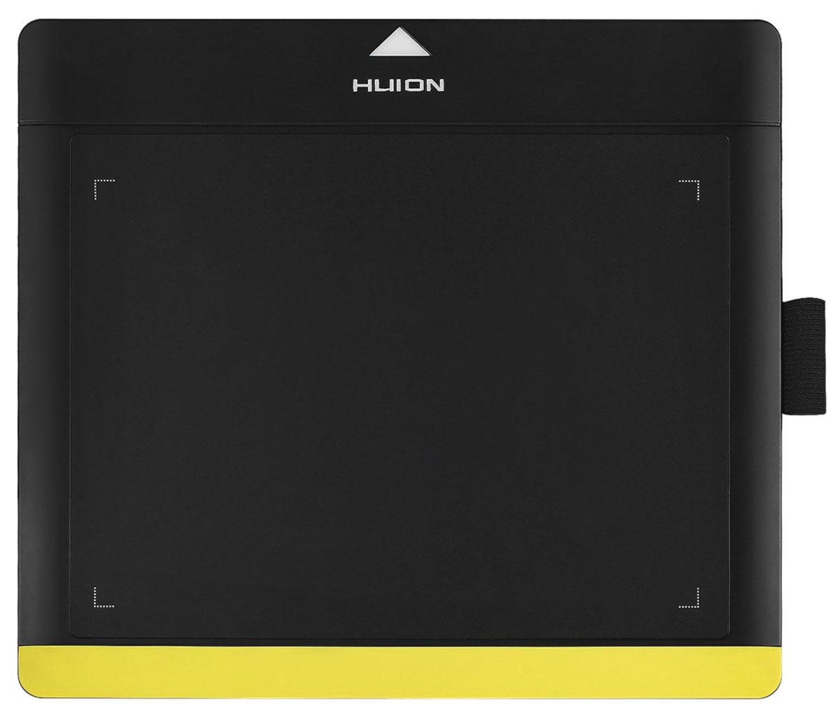 Huion 680TF, Black Yellow графический планшет