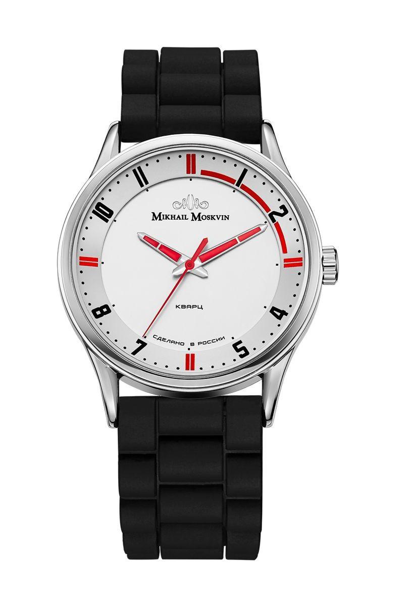 Часы наручные мужские Mikhail Moskvin, цвет: серебристый, черный. 1129A1L1