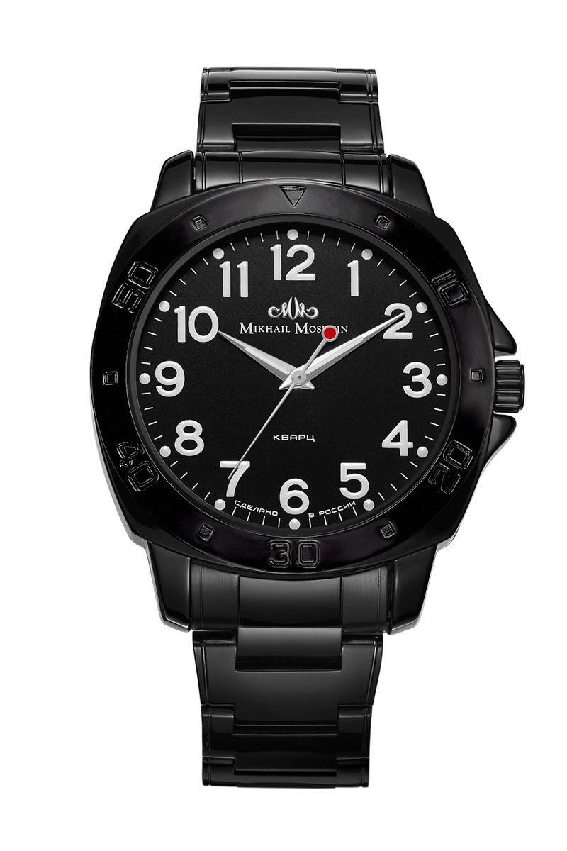 Часы наручные мужские Mikhail Moskvin, цвет: черный. 1125A11В4