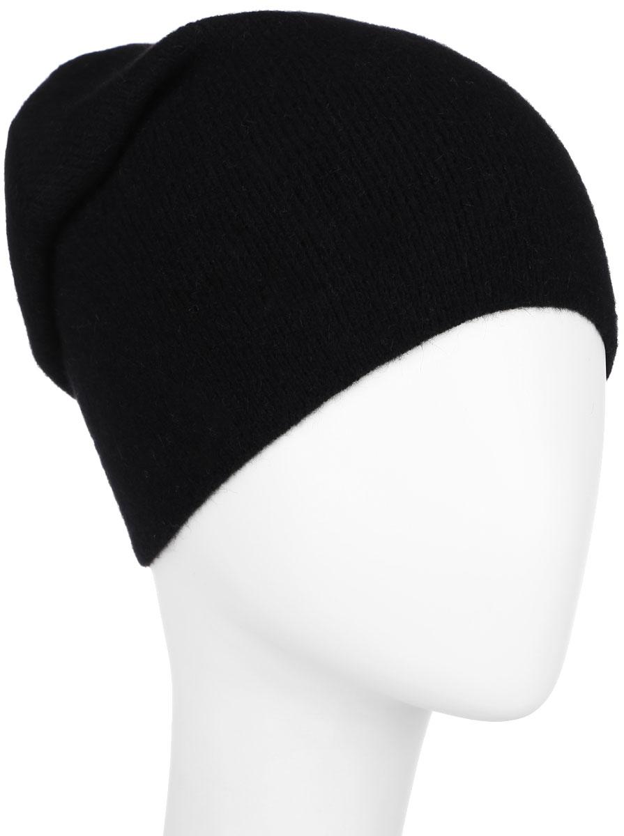 Купить Шапка женская Finn Flare, цвет: черный. A16-32122_200. Размер 56