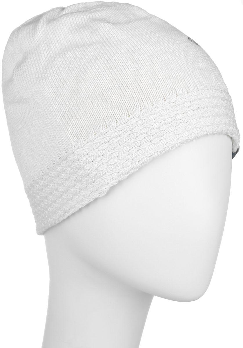 Шапка для девочки Huppa Eliisa, цвет: молочный. 80150000-60020. Размер 57 шапка для девочки huppa ulla цвет белый 83880000 60020 размер 51 53