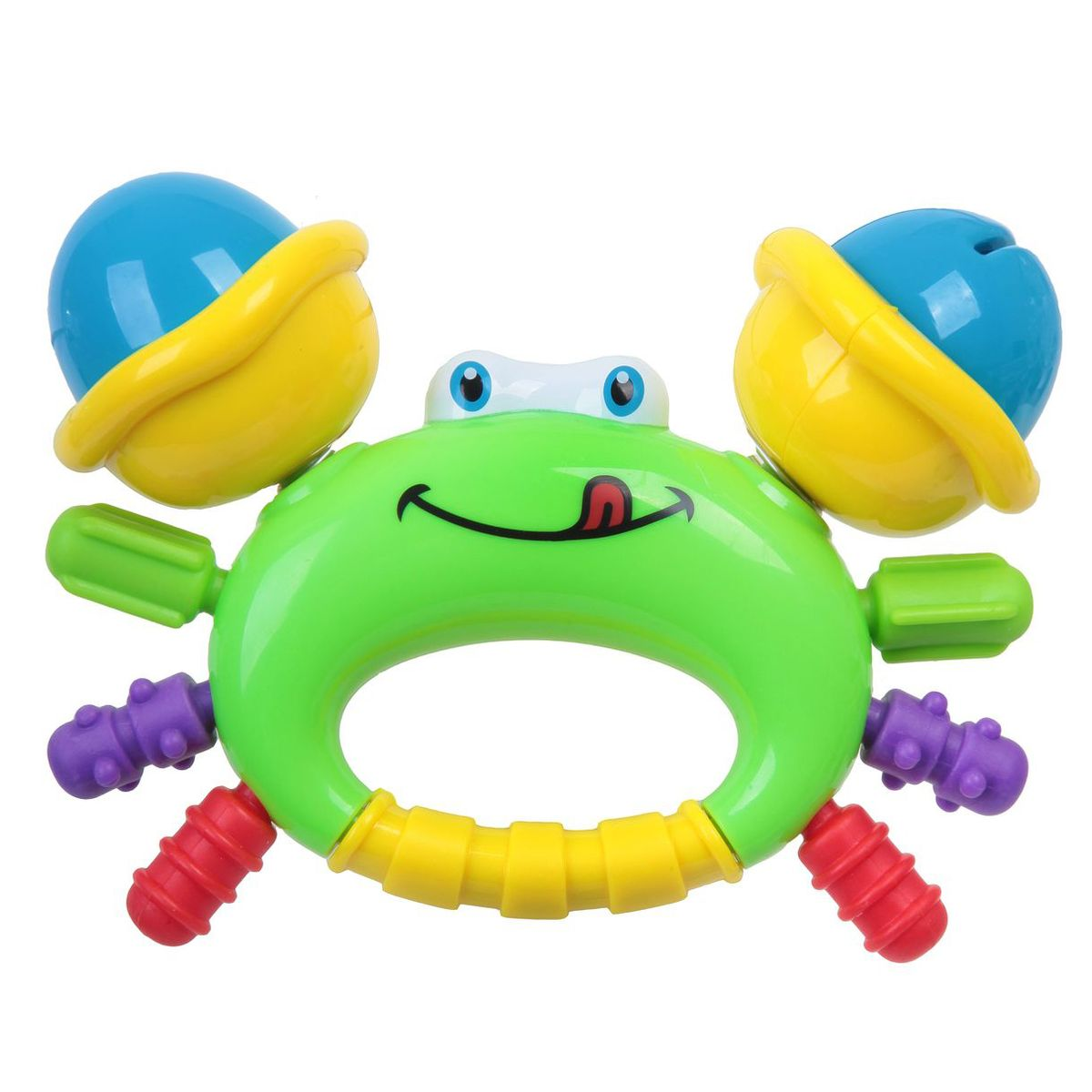 Bondibon Погремушка Крабик bondibon мягкая игрушка погремушка слоник