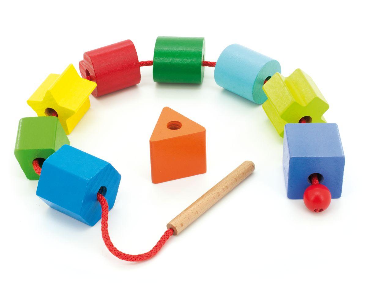 Мир деревянных игрушек Обучающая игра Геометрия игрушка мир деревянных игрушек бусы ассорти 48шт д416