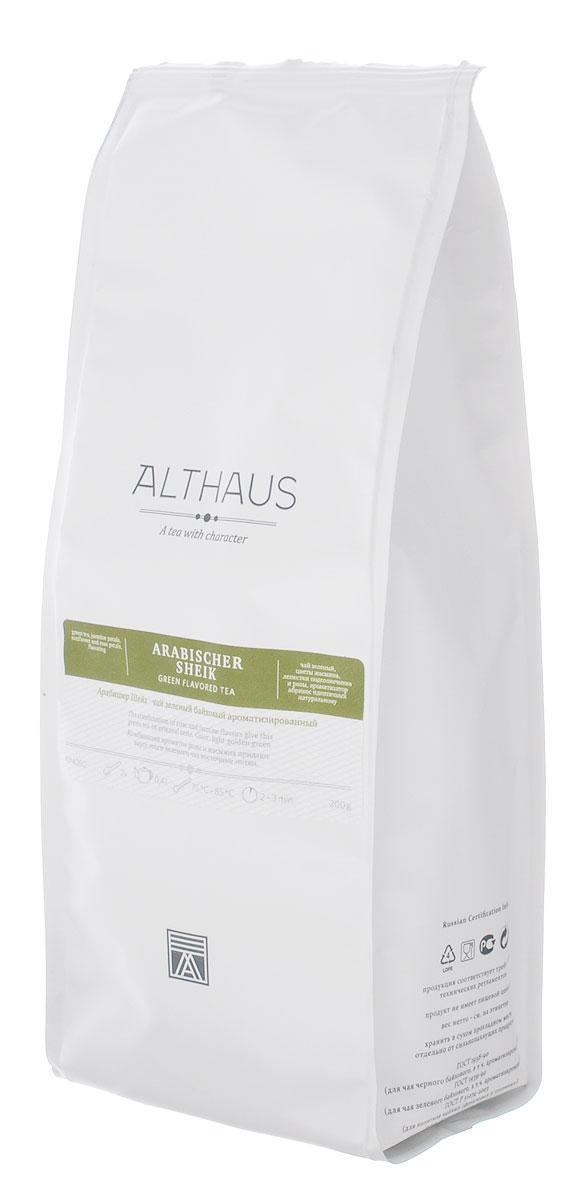 Althaus Arabischer Sheik зеленый листовой чай, 200 г