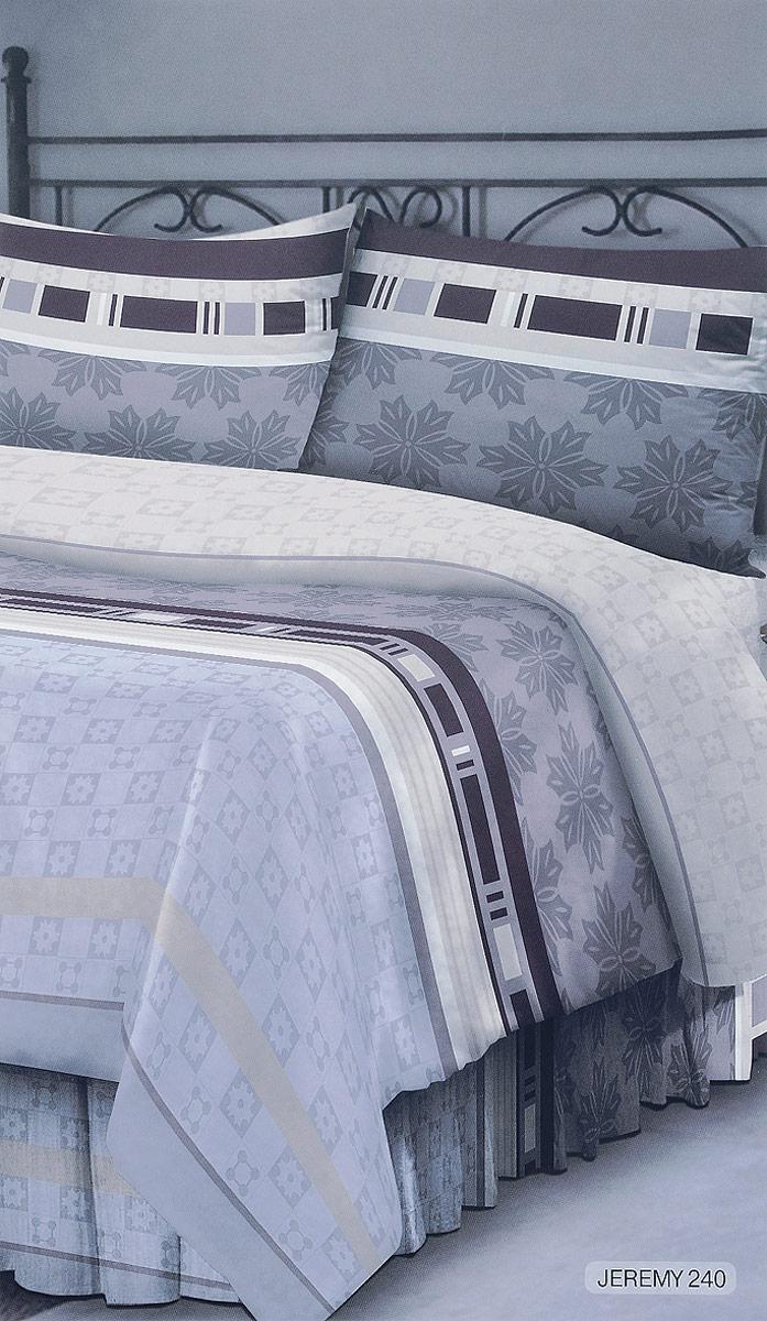 Комплект белья Seta Verona. Jeremy, евро, наволочки 50x70 простыни seta простыни