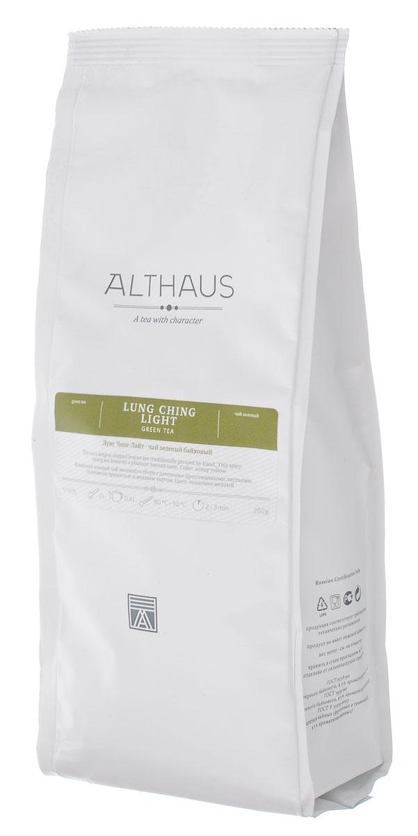 Althaus Lung Ching Light зеленый листовой чай, 200 г althaus чай в красноярске
