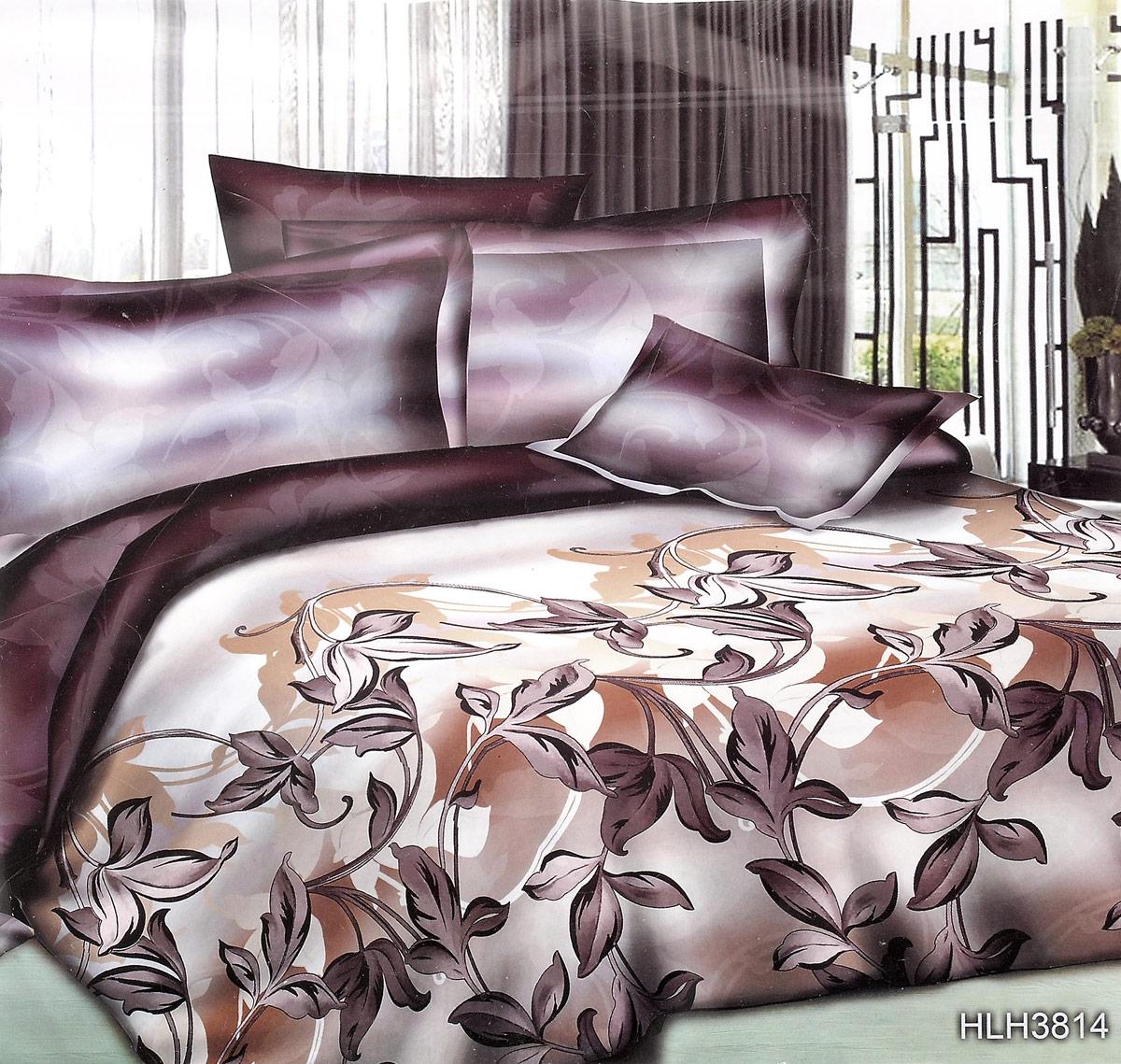 Комплект белья ЭГО Шанталь, 1,5-спальный, наволочки 70x70Э-2026-01Комплект белья ЭГО Шанталь выполнен из полисатина (50% хлопка, 50% полиэстера). Комплект состоит из пододеяльника, простыни и двух наволочек. Постельное белье имеет изысканный внешний вид и яркую цветовую гамму. Гладкая структура делает ткань приятной на ощупь, мягкой и нежной, при этом она прочная и хорошо сохраняет форму. Ткань легко гладится, не линяет и не садится. Приобретая комплект постельного белья ЭГО Шанталь, вы можете быть уверенны в том, что покупка доставит вам и вашим близким удовольствие и подарит максимальный комфорт.