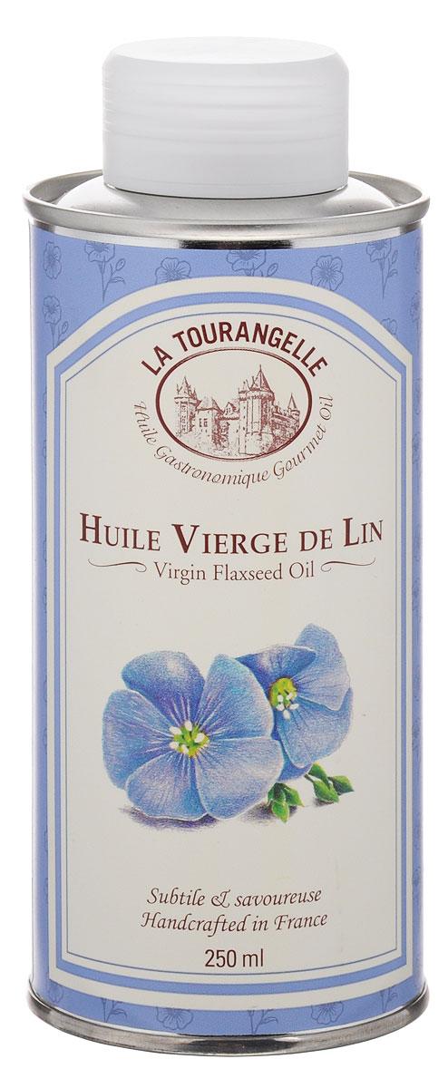 La Tourangelle Flaxseed Virgin Oil масло льняное нерафинированное, 250 мл масло льняное полимерезиновое lefranc