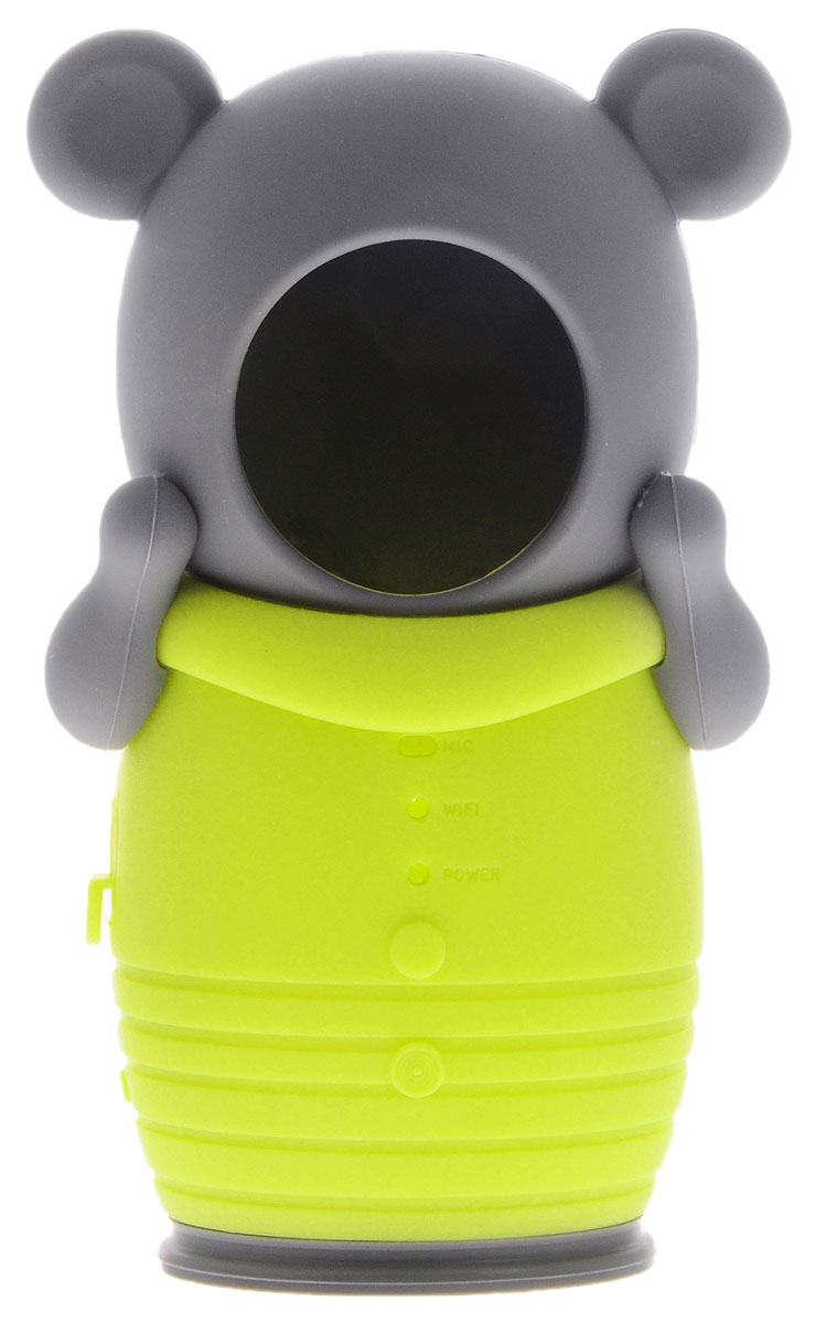 IVUE Bear-Cover насадка для камеры видеонаблюденияBEAR-COVERЗащитная оболочка для камеры IVUE Bear-Cover в виде мишки сделает вашу жизнь ярче, а камеру сохранит в безопасности от детей и родителей.