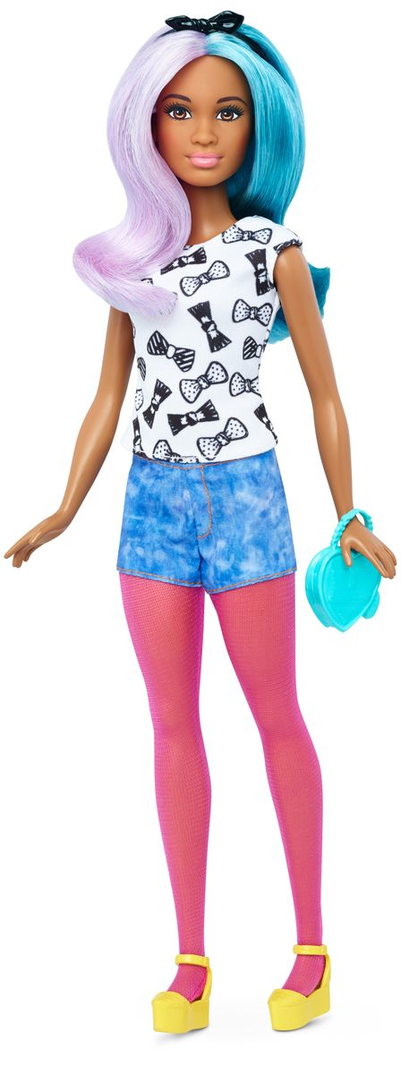 Barbie Кукла с набором одежды Blue Violet & Fashions barbie голубое