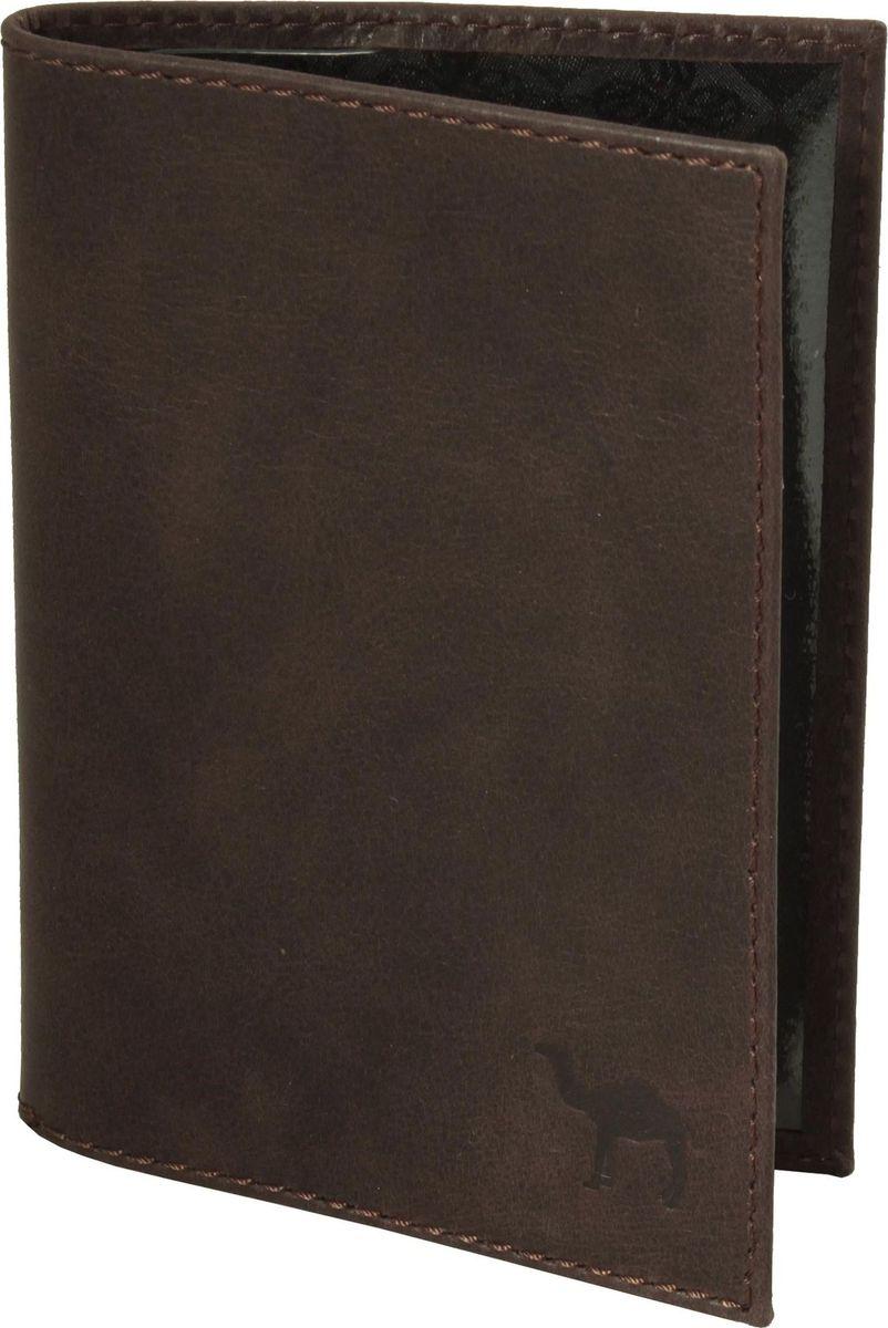 Обложка для паспорта мужская Dimanche Camel, цвет: коричневый. 630/КНатуральная кожаОбложка для паспорта Dimanche Camel изготовлена из натуральной кожи. На внутреннем развороте расположены два кармана из прозрачного пластика.