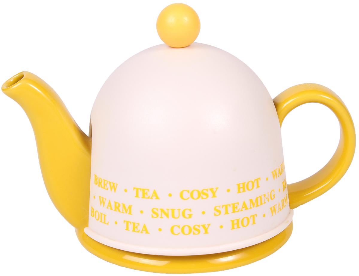 Чайник заварочный Bella, цвет: желтый, 450 мл. SFYT027S-YSFYT027S-YЗаварочный чайник Bella с металлическим фильтром, идеально подходит для использования в домашнем обиходе.Чайник имеет пластиковую крышку, которая помогает дольше сохранять температуру.Изделие рекомендуется мыть вручную с применением любых моющихсредств, предназначенных для мытья посуды и стекла. Применениечистящих абразивных средств не рекомендуется, так как может привестик появлению царапин на поверхности изделия и, соответственно, к ухудшению его внешнего вида.Объем: 450 мл