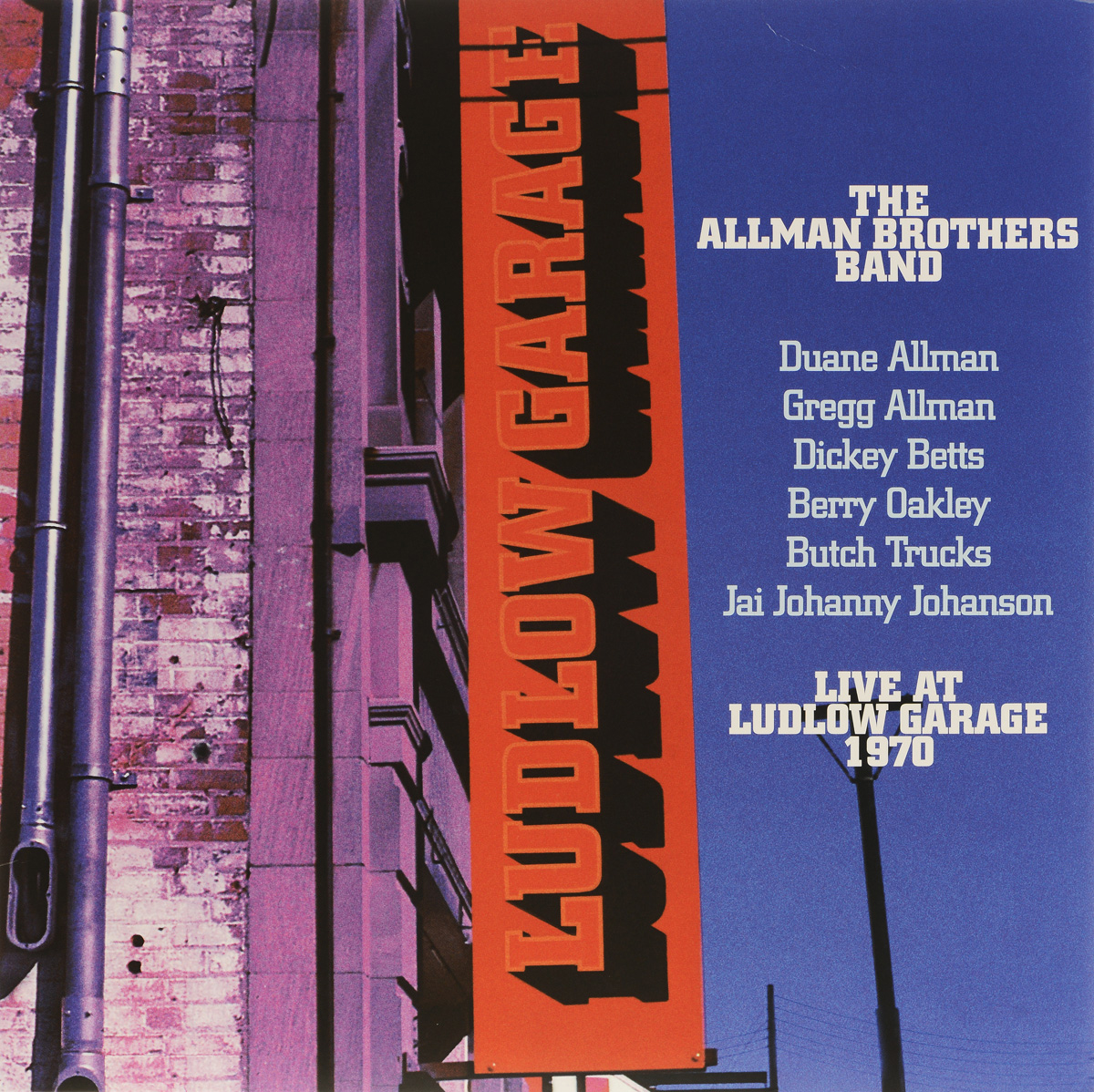 The Allman Brothers Band The Allman Brothers Band. Live At Ludlow Garage 1970 (3 LP) the allman brothers band the allman brothers band at fillmore east 2 lp