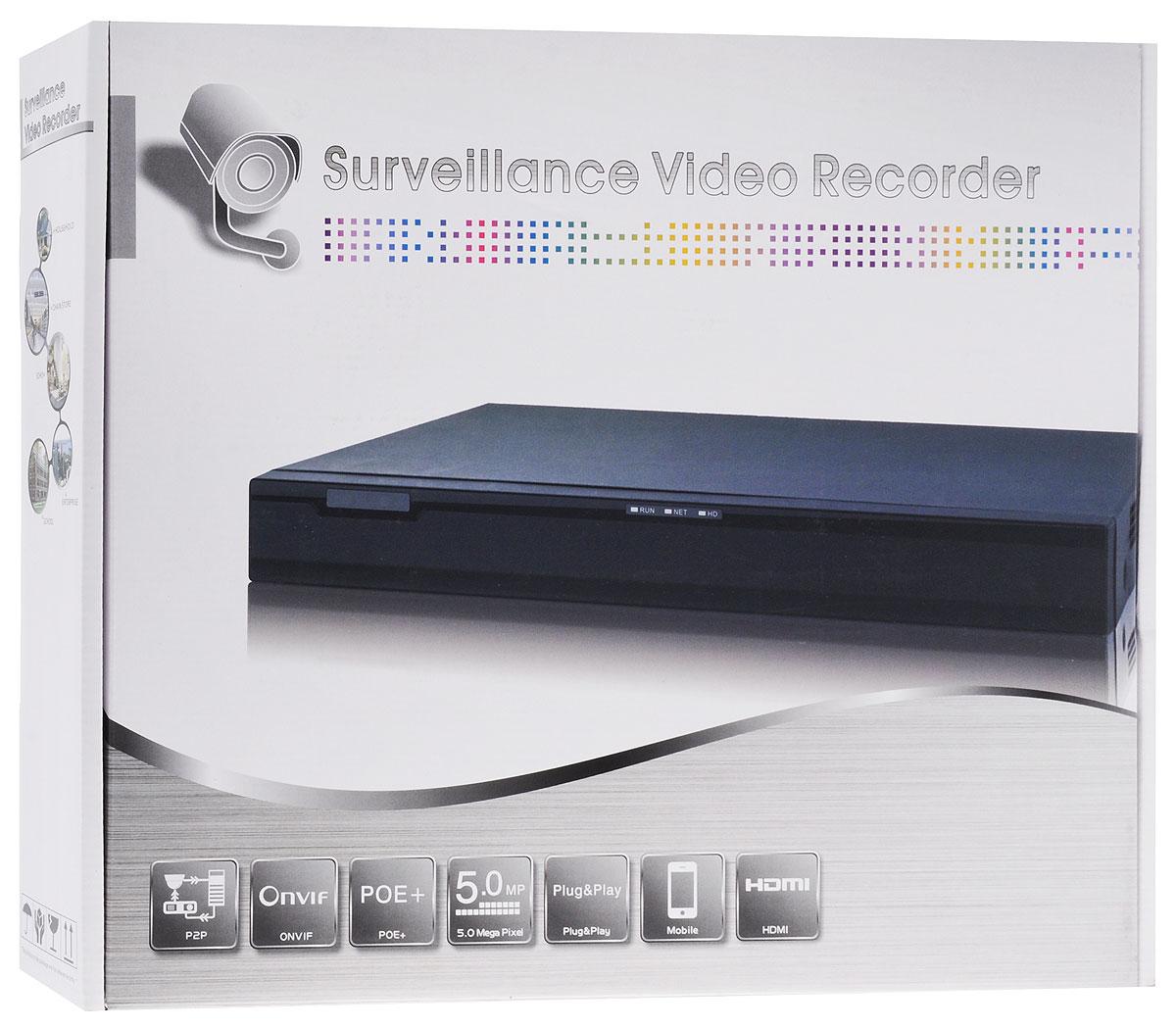 IVUE NVR-882K25-Н2 регистратор системы видеонаблюдения IVUE