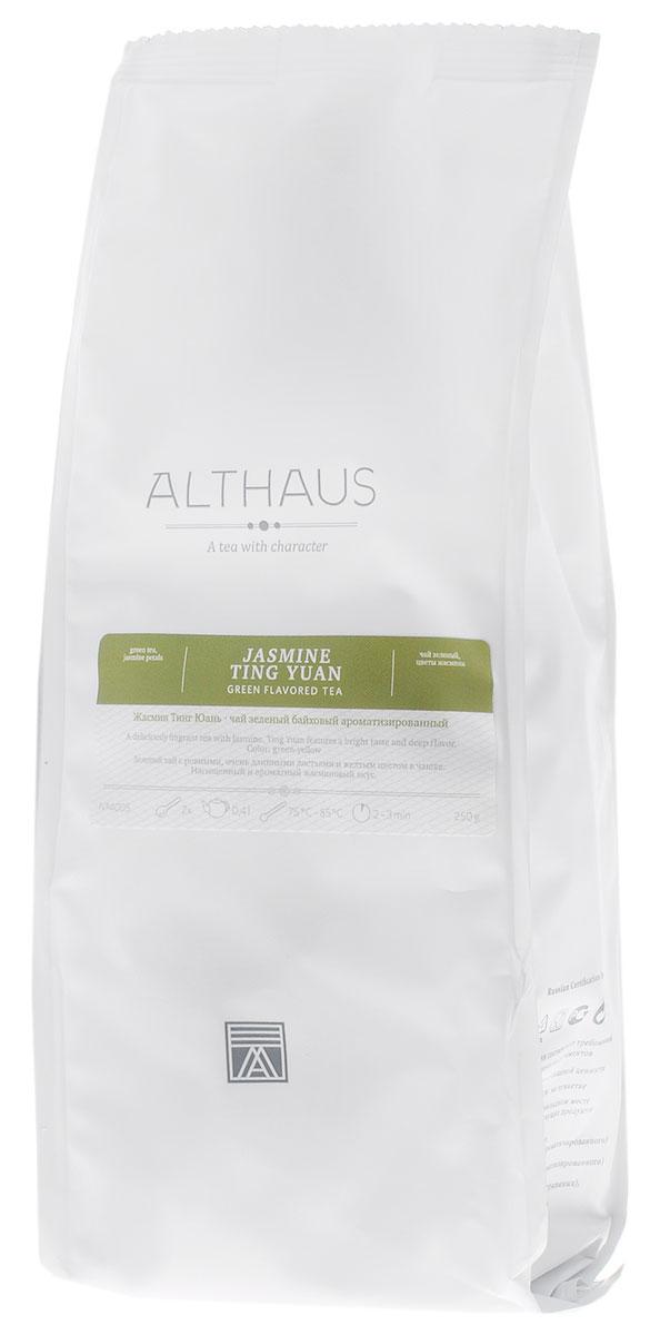 Althaus Jasmine Ting Yuan зеленый листовой чай, 250 г greenfield jasmine dream зеленый ароматизированный листовой чай 100 г