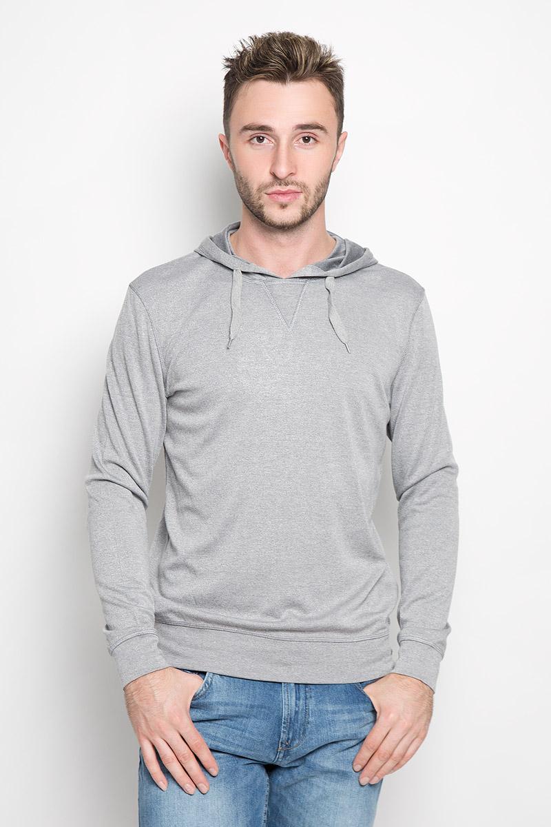 Толстовка мужская Finn Flare, цвет: серый. A16-42010_205. Размер S (46) finn flare a16 11117