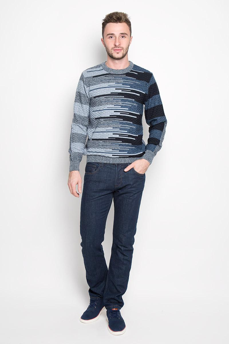 Джинсы мужские Tom Tailor Denim Aedan, цвет: темно-синий. 6205038.09.12_1202. Размер 31-32 (46/48-32)6205038.09.12_1202Модные мужские джинсы Tom Tailor Denim Aedan - джинсы высочайшего качества на каждый день, которые прекрасно сидят.Модель зауженного кроя и низкой посадки изготовлена из натурального хлопка. Застегиваются джинсы на пуговицу в поясе и на ширинку-молнию, также имеются шлевки для ремня. Спереди модель дополнена двумя втачными карманами и одним накладным кармашком, а сзади - двумя накладными карманами. Эти стильные и в то же время комфортные джинсы послужат отличным дополнением к вашему гардеробу. В них вы всегда будете чувствовать себя уютно и комфортно.
