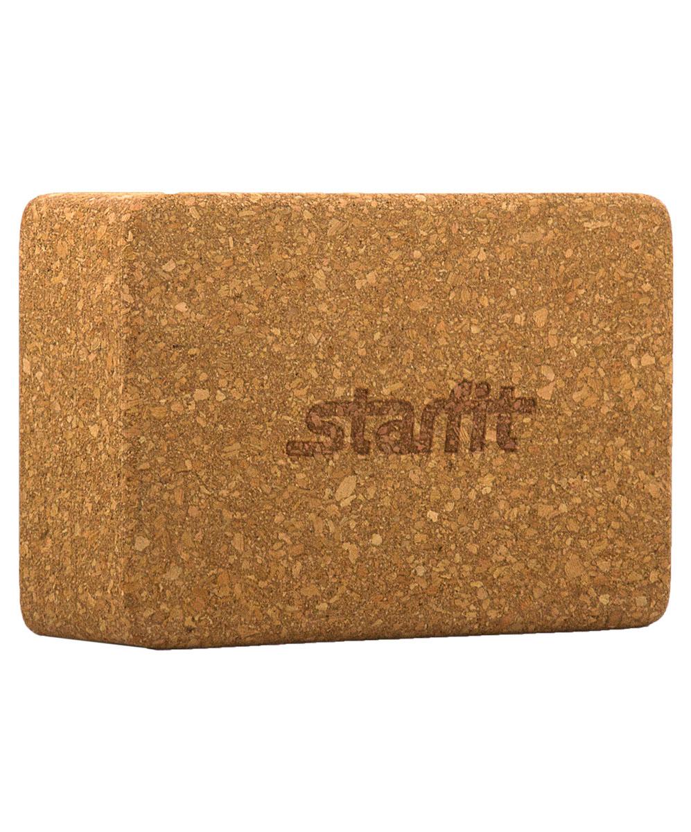 Блок для йоги Starfit FA-102, цвет: светло-коричневый, 22,5 х 15 х 7,8 смУТ-00008893Блок FA-102 - это опорный блок для занятий йогой от популярного австралийского бренда Star Fit, который используется как новичками, так и продвинутыми пользователями. Изделие обеспечивает надежную опору и фиксацию в различных позах. При выполнении позиций стоя и в сидячих скручиваниях блоки применяются в том случае, если вы не можете дотянуться руками до пола. Важной особенностью является возможность переворачивания блока различными сторонами (на торец, на узкую или на широкую сторону) в зависимости от потребностей практики. Блок помогает укрепить и разработать группы мышц.Порадуйте себя качественным и полезным тренажером.Размер блока: 22,5 х 15 х 7,8 см.Вес: 675 г.