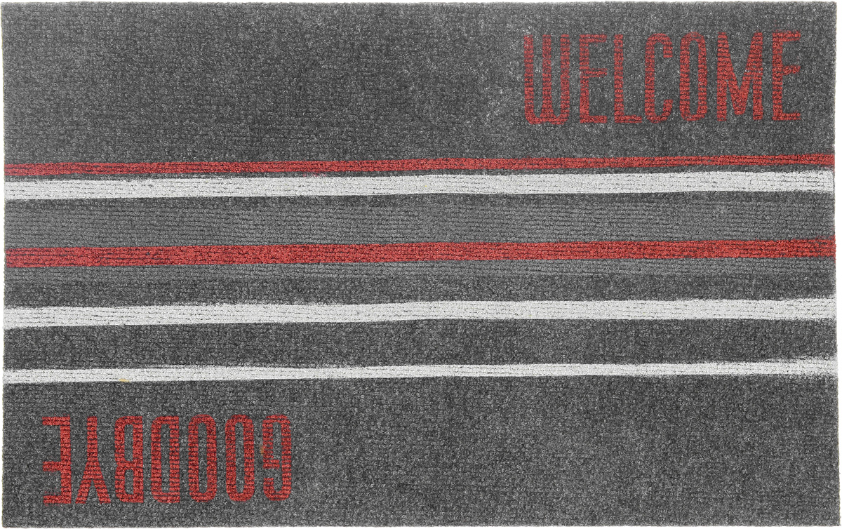 Коврик придверный EFCO Нью Эден, цвет: красный, серый, бежевый, 68 х 45 см18420_серый-полоскаОригинальный придверный коврик EFCO Нью Эден надежнозащитит помещение от уличной пыли и грязи. Изделиевыполнено из 100% полипропилена, основа - суперлатекс.Такой коврик сохранит привлекательный внешний вид надолгое время, а благодаря латексной основе, он легко чиститсяи моется.