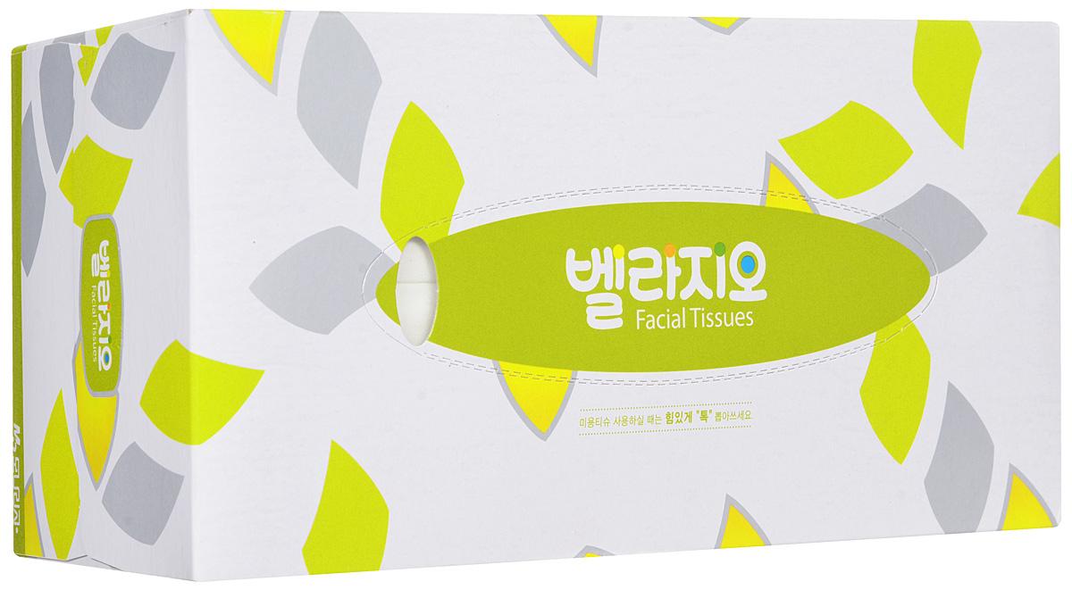 Monalisa Салфетки для лица Bellagio 180 шт, цвет: белый, желтый223551_белый, желтый
