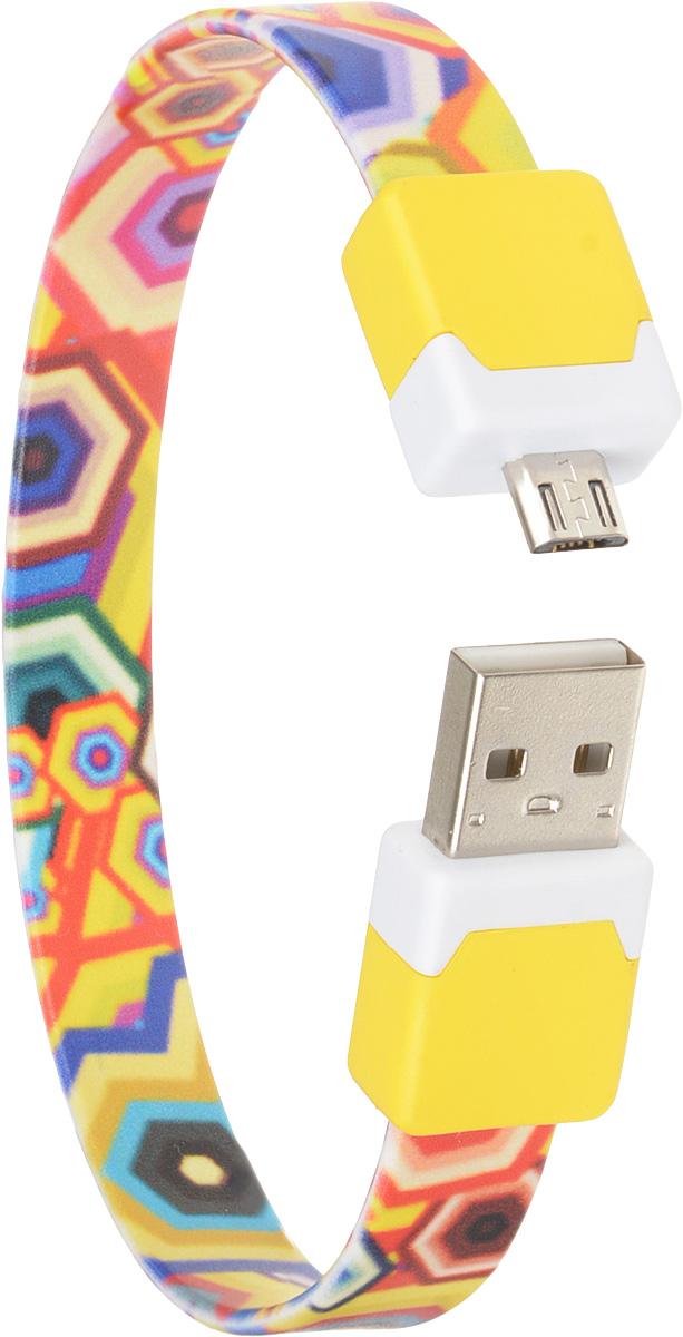 DVTech CB135 multicolor, Yellow кабель USB-micro USB 2.0 25 смDVTech CB135 multicolor_желтыйКабель DVTech CB135 предназначен для зарядки портативных устройств с разъемом micro-USB от стандартного USB порта и обмена данными между устройствами. Кабель выполнен из высококачественных материалов, в корпусах разъемов размещены магнитные вставки.