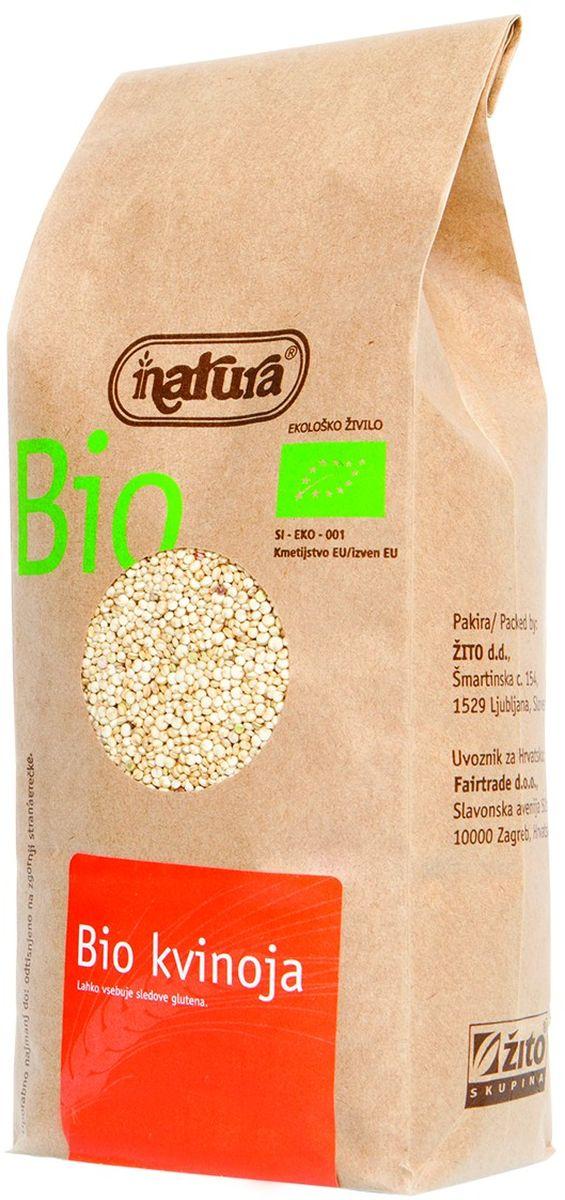 Zito Natura Bio Крупа киноа органическая, 400 г3400001Киноа – это древнее растение родом из гор Анд в ЮжнойАмерике. Она может заменить практически любые злакипрактически в любых блюдах. Она отличается приятнымсладким вкусом, который разнообразит ваш ежедневныйрацион. Промойте водой перед приготовлением, чтобысмыть сапонины, придающие крупе горьковатый привкус.Органические продукты Natura имеют маркировку в соответствии с законодательством и европейскую экологическую маркировку сертифицированных органических продуктов питания, так как при их производстве не используются удобрения и распылители, запрещенные в органическом производстве и обработке. Органические продукты произведены под контролем SI - EKO - 001.Органические продукты Natura производятся в регионах, где природа пока еще живет своей жизнью. Они попадают на полки магазинов и на столы людей, выбирающих здоровое питание, в той же форме, в которой их создала природа: натуральными, питательными и здоровыми. Разнообразные натуральные зерна и семена обладают всеми свойствами злаков, полностью сохраняя, таким образом, свои полезные качества.