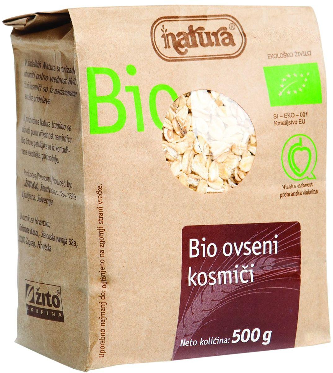 Zito Natura Bio Хлопья овсяные органические, 500 г ufeelgood organic pumpkin seeds органические семена тыквы 150 г