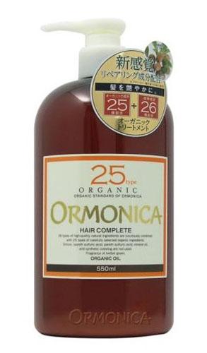 """Ormonica Органический бальзам для ухода за волосами и кожей головы """"Organic Scalp Care Complete"""", 550 мл"""