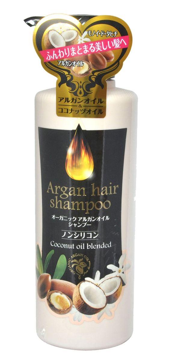 Kurobara Шампунь для волос с маслом арганы Arganoil Shampoo, 450 мл974137Шампунь с маслом арганы нежно заботится о Ваших волосах: увлажняет, восстанавливает, делает их гладкими и блестящими. Волосы становятся красивыми и здоровыми. В состав входит 2 органических компонента: масло арганы производства Марокко и сквалан, полученный из сахарного тростника, а также комплекс растительных компонентов, ухаживающих за волосами и придающих им блеск.Активные компоненты: Масло арганы защищает волосы от негативного воздействия окружающей среды, усиливает рост волос, восстанавливает их структуру, питает, делает волосы сильными, послушными, шелковистыми. Масло Моной де Таити – традиционное полинезийское масло, получаемое на основе экстракта гардении таитянской и рафинированного кокосового масла. Масло укрепляет и оздоравливает волосы, придает им естественный блеск. Восстанавливает поврежденные волосы, увлажняет. Гидролизованный кератин и фитостерол/октилдодецил лауроил глутамат. Эти компоненты, схожие с клеточно-мембранным комплексом волос, глубоко проникают и ухаживают за вашими волосами изнутри. Масло шиповника придает волосам блеск, упругость и делает их шелковистыми. Защищает окрашенные волосы и способствует сохранению цвета.Обладает ароматом бергамота и гардении.