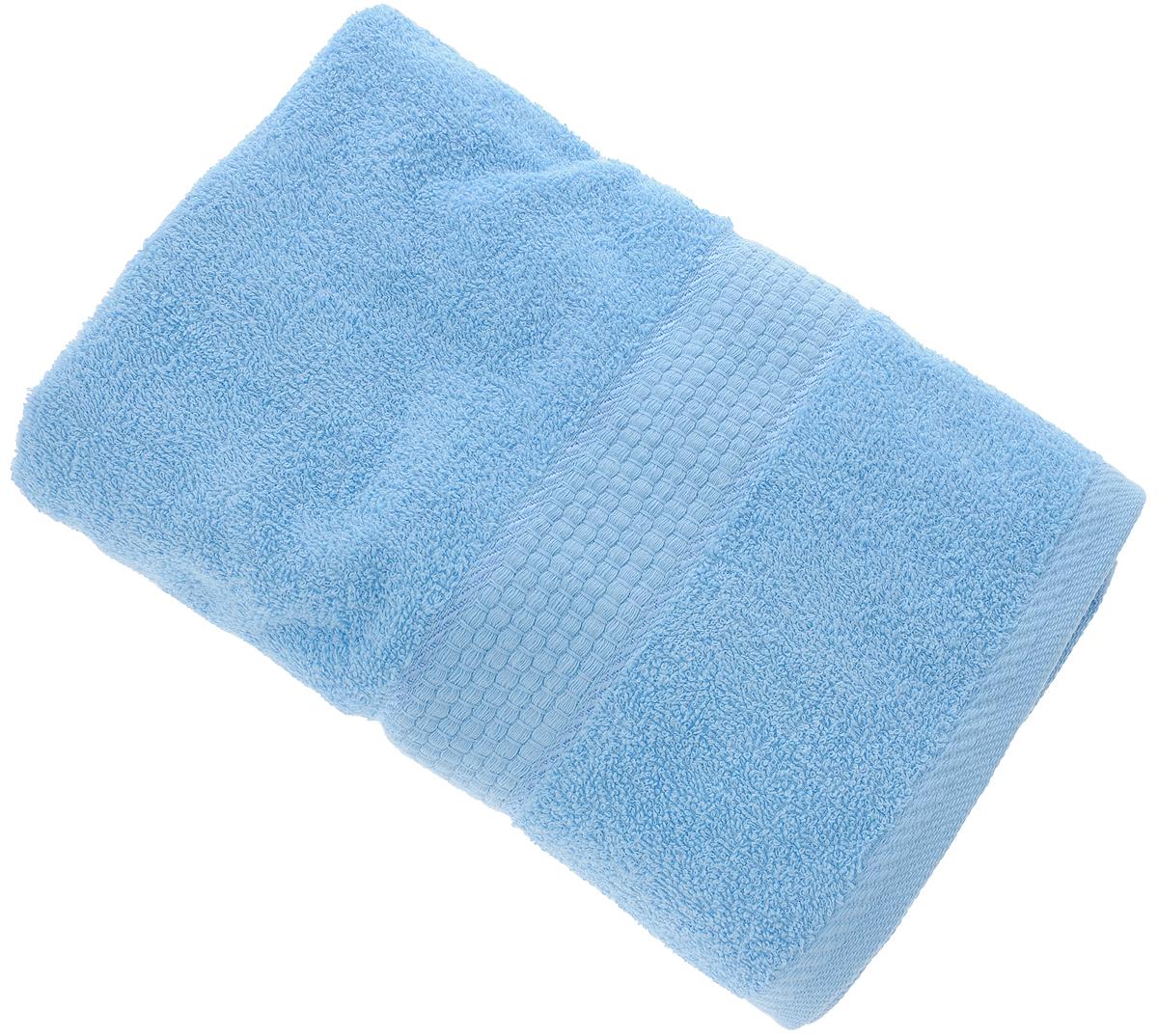 Полотенце Aisha Home Textile, цвет: голубой, 70 х 140 смУзТ-ПМ-114-08-06кМахровые полотенца AISHA Home Textile идеальное сочетание цены и качества. Полотенца упакованы в стильную подарочную коробку. В состав входит только натуральное волокно - хлопок. Лаконичные бордюры подойдут для любого интерьера ванной комнаты. Полотенца прекрасно впитывает влагу и быстро сохнут. При соблюдении рекомендаций по уходу не линяют и не теряют форму даже после многократных стирок.Состав: 100% хлопок.