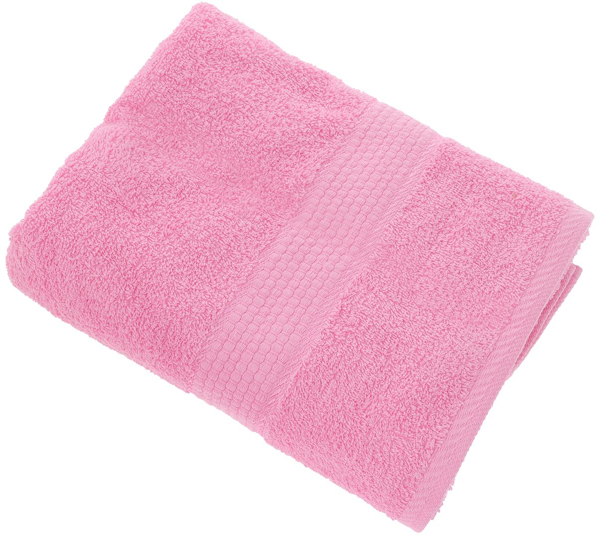 Полотенце Aisha Home Textile, цвет: розовый, 70 х 140 смУзТ-ПМ-114-08-04кМахровые полотенца AISHA Home Textile идеальное сочетание цены и качества. Полотенца упакованы в стильную подарочную коробку. В состав входит только натуральное волокно - хлопок. Лаконичные бордюры подойдут для любого интерьера ванной комнаты. Полотенца прекрасно впитывает влагу и быстро сохнут. При соблюдении рекомендаций по уходу не линяют и не теряют форму даже после многократных стирок.Состав: 100% хлопок.