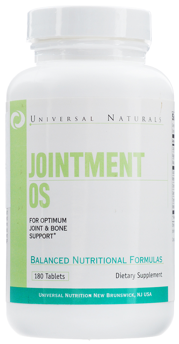 "Глюкозамин и Хондроитин Universal Nutrition ""Jointment OS"", 180 таблеток"