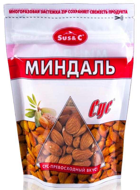 Сус миндаль сушеный, 150 г царский выбор кедровый орех отборный сушеный 190 г