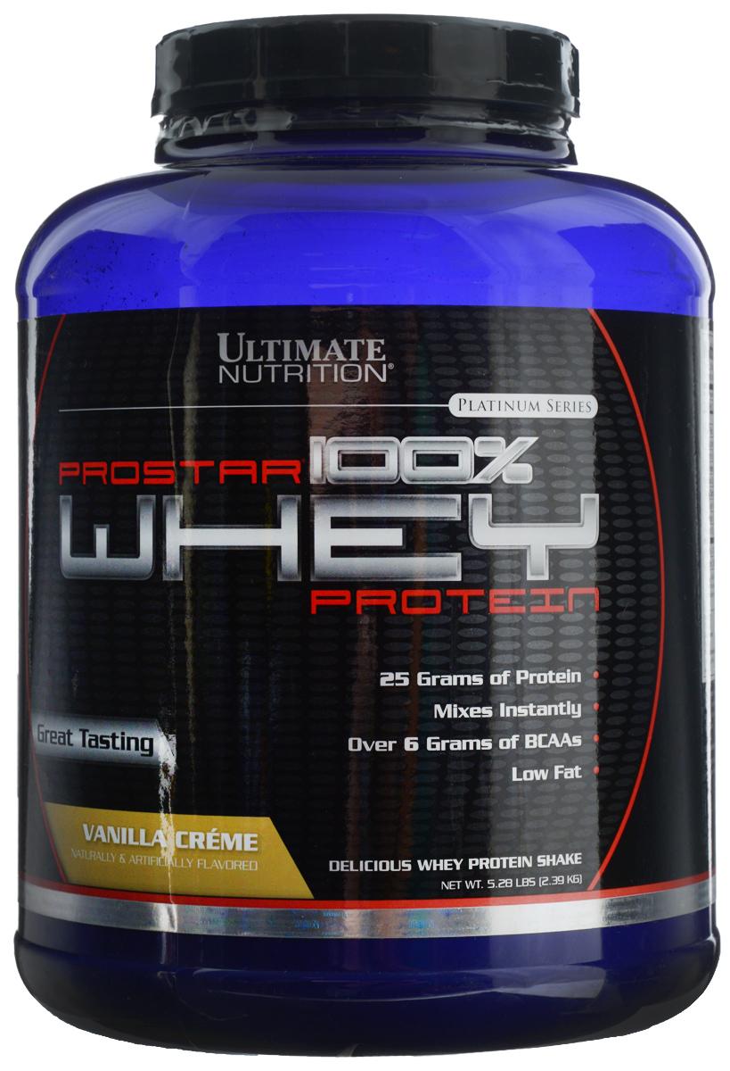 Протеин сывороточный Ultimate Nutrition Prostar Whey, ваниль, 2,27 кг футболка ultimate nutrition
