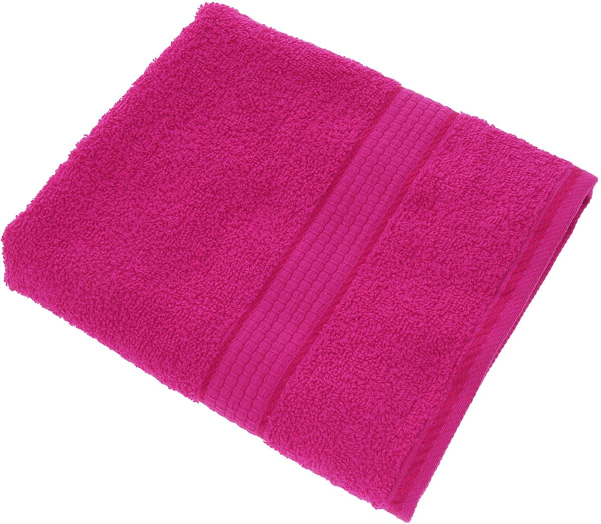 Полотенце Aisha Home Textile, цвет: фуксия, 50 х 90 смУзТ-ПМ-112-08-28кМахровые полотенца AISHA Home Textile идеальное сочетание цены и качества. Полотенца упакованы в стильную подарочную коробку. В состав входит только натуральное волокно - хлопок. Лаконичные бордюры подойдут для любого интерьера ванной комнаты. Полотенца прекрасно впитывает влагу и быстро сохнут. При соблюдении рекомендаций по уходу не линяют и не теряют форму даже после многократных стирок.Состав: 100% хлопок.