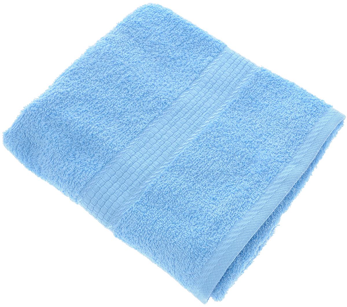 Полотенце Aisha Home Textile, цвет: голубой, 50 х 90 смУзТ-ПМ-112-08-06кМахровые полотенца AISHA Home Textile идеальное сочетание цены и качества. Полотенца упакованы в стильную подарочную коробку. В состав входит только натуральное волокно - хлопок. Лаконичные бордюры подойдут для любого интерьера ванной комнаты. Полотенца прекрасно впитывает влагу и быстро сохнут. При соблюдении рекомендаций по уходу не линяют и не теряют форму даже после многократных стирок.Состав: 100% хлопок.